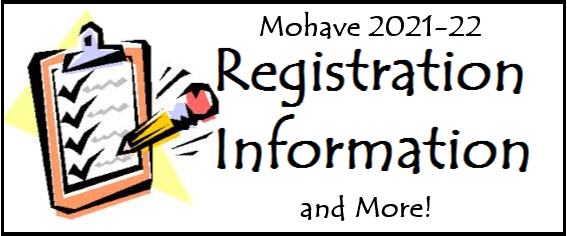 2021-22 Mohave Registration Information