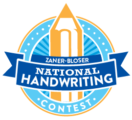 Handwriting Contest Graphic