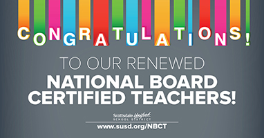 SUSD National Board Certified Teachers